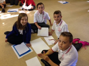 Preparing for the first Maths Challenge of the year! Read the children's reports to see how they got on