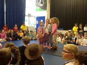 Mariella, Sienna, Erin and Ava with fantastic singing voices